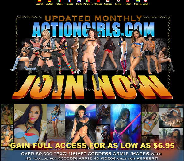 Actiongirls.com discount